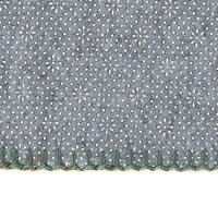 ウール素材100%生地を使用したラグ。