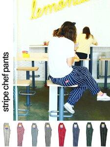 期間限定!!最大20%OFFクーポン対象商品 COOKMAN クックマン シェフパンツ chef pants メンズ レディース ユニセックス 男女兼用 おしゃれ かわいい 大きいサイズ Chef Pants Stripe イージーパンツ カジュアルパンツ バギーパンツ ピンスト コックマン 231-83801