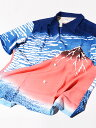 Suchmos(サチモス) / YONCE(ヨンス)着用 サンサーフ SUN SURF アロハ シャツ アロハシャツ メンズ レディース ユニセックス 葛飾北斎 富嶽三十六景 凱風快晴 赤富士 和柄 半袖 東洋エンタープライズ 日本製 SS37917