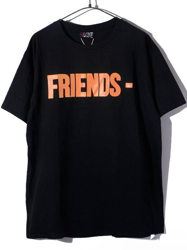 トップス, Tシャツ・カットソー VLONE T FRIENDS TEE AAP Mob ASAP BARI Kanye West FRIENDS-SST-BO