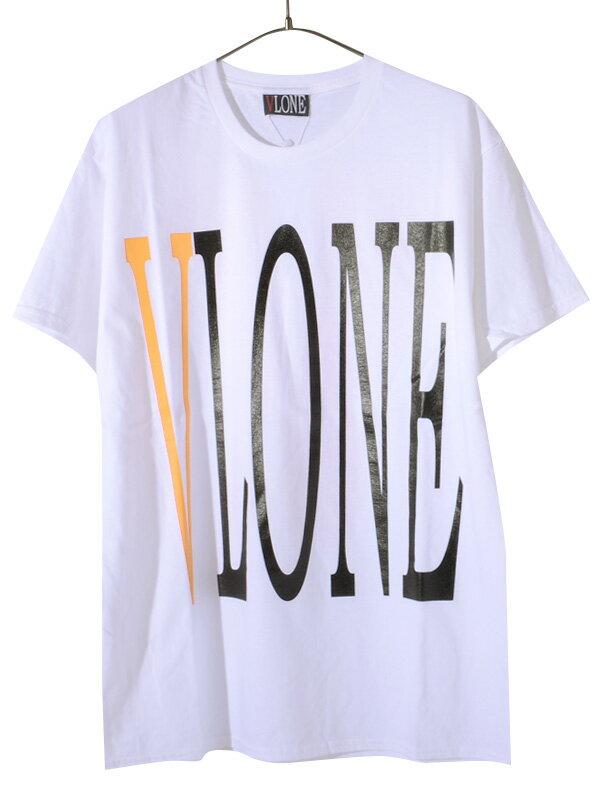 トップス, Tシャツ・カットソー VLONE T STAPLE T-SHIRT SS TEE WHITEYELLOW AAP Mob ASAP BARI Ian Connor STAPLE-SST-WY