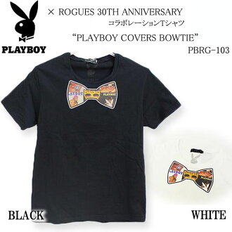 PLAYBOY×rogusu協作短袖T恤