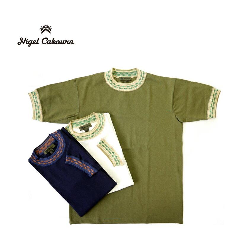 トップス, Tシャツ・カットソー Nigel Cabourn T JACQUARD NECK 80400021005 T10P03Dec16