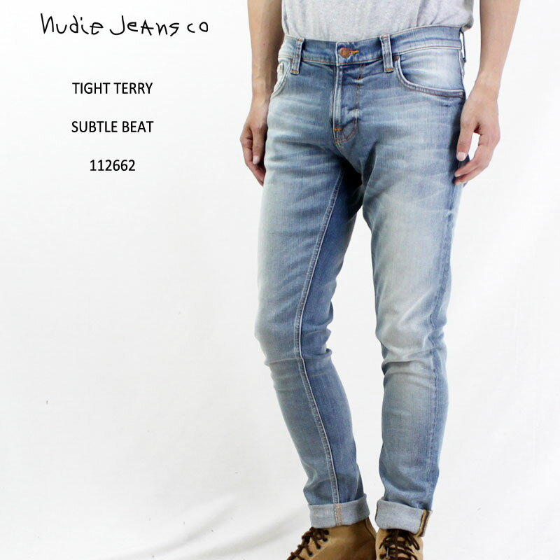 NudieJeans(ヌーディージーンズ)『TightTerrySubtleBeat』