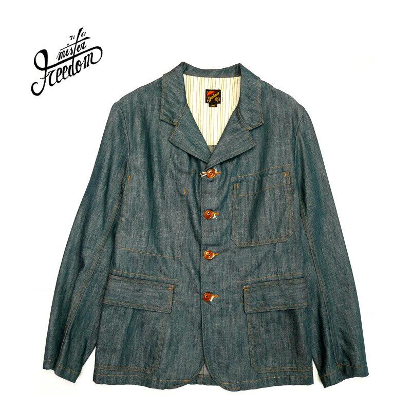メンズファッション, コート・ジャケット SUGAR CANE MISTER FREEDOM NOS PLAYER DENIM CONTINENTAL BLAZER SC13601 10P03Dec16RCP