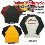 "������̵����IndianMotorcycle����ǥ�����⡼���������������Υ��󥿡��ץ饤���������åȡ��ȥ졼�ʡ���RAGLAN2-TONECREWSWEAT""INDIANRALLY""��IM66358�ڳڥ���_�����ۡ�RCP��10P02Aug14��smtb-k�ۡ�ky��"