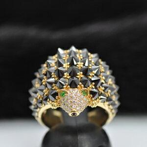 【送料無料】【ギフトラッピング無料】ダイヤモンドリング【指輪】:ブラックダイヤモンド:ハ...