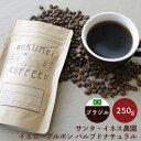 ロクメイコーヒー スペシャルティコーヒー 焙煎豆 ブラジル サンタ・イネス農園 イエローブルボン パルプドナチュラル 250g | コーヒー豆 珈琲豆 スペシャリティコーヒー 粉 豆のまま 中挽き 粗挽き 水出し ストレートコーヒー シングルオリジン おしゃれ 人気