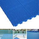 【プール用安全床材水中マット】プールクッション25×25cm1枚 プールの下に敷くマット プール用床マット