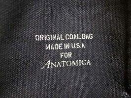ANATOMICAアナトミカCOALBAGORIGINAL590BLACKSサイズ