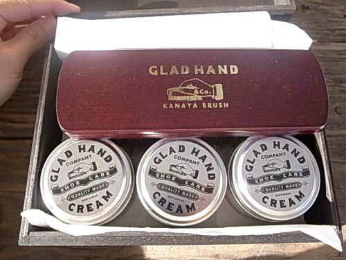 GLAD HAND グラッドハンド SHOE CARE - CREAM SET シューケア クリーム セット