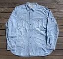 Polo Jeans co ポロジーンズ Ralph Lauren ラルフローレン シャンブレーシャツ デニムシャツ メンズXL 【Used ユーズド】【ビッグサイズ】【中古】