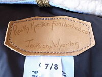 RockyMountainFeatherbedロッキーマウンテンダウンベストムートンカラーCHRISTYVESTクリスティ'162016年レディース