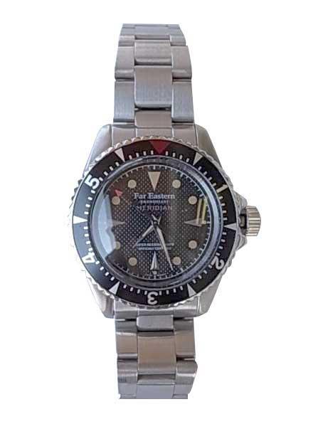 FAR EASTERN ENTHUSIAST ファー・イースタン・エンスージアスト MERIDIAN WATCH STAINLESS ステンレスベルト 2色(SILVER/MATT BLACK) 腕時計