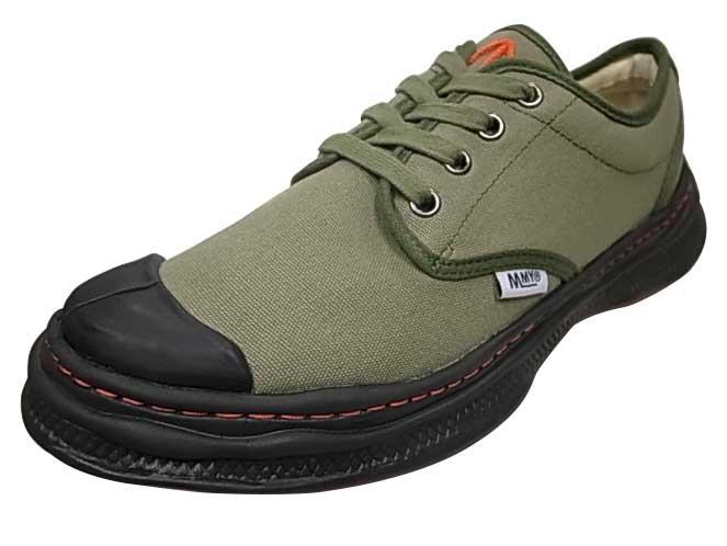 メンズ靴, スニーカー SALE 20OFF Nigel Cabourn Marson MIHARA YASUHIRO COMBAT SHOES - 1-109 GREEN 2020SS MODEL