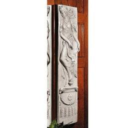 タンバリンを持った ディオニュソス(バッカス)祭の踊り子 壁彫刻彫像/壁装飾オーナメント エスニックカフェ 店舗装飾インテリア (輸入品