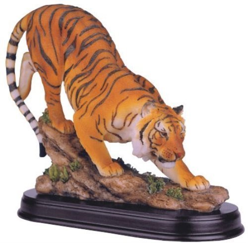 彫刻, 西洋彫刻  Bengal Tiger Collectible Wild Cat Animal Decoration Figurine Statue