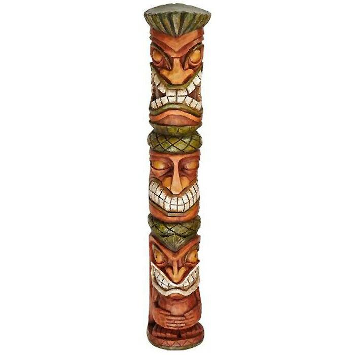 インテリア小物・置物, 置物  Moai Haku Pani Tiki Statue(