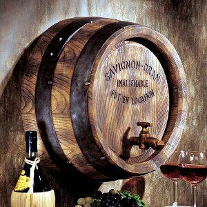 النحت الغربي برميل النبيذ الفرنسي النحت الجدار الداخلي / تصميم النحت الجدار برميل توسكانو الفرنسي النبيذ [استيراد