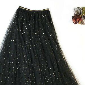 [Romance衣装]高級シリーズチュチュスカート大人上質ふんわりTUTUチュルスカートカラーパニエ星柄結婚式ダンス発表会ダンス衣装普段用デートイベントデートコスプレ誕生日5色予約可