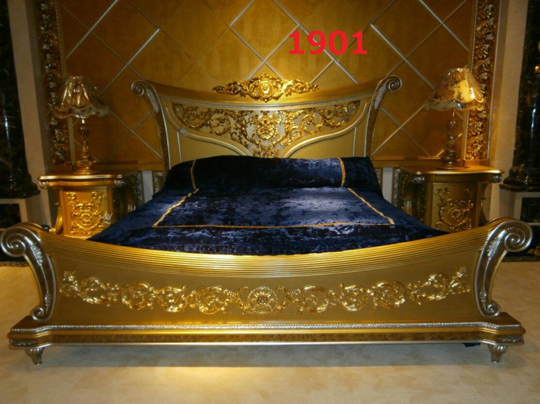【今ならさらにお値引き可能!お問い合わせください!】最高級彫刻付きベッド