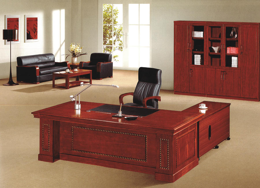 【輸入家具】新商品!プレジデントオフィスデスクA 1600X800X760mm:輸入家具のローマンディール