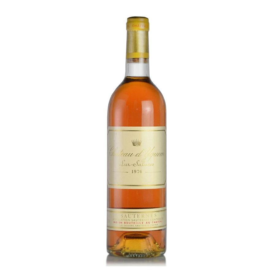 シャトー ディケム 1976 イケム フランス ボルドー 白ワイン