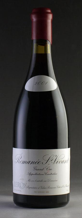 【送料無料】 [2001] ロマネ・サン・ヴィヴァン ドメーヌ・ルロワ 750ml Romanee St. Vivant Domaine Leroyフランス / ブルゴーニュ / 赤ワイン