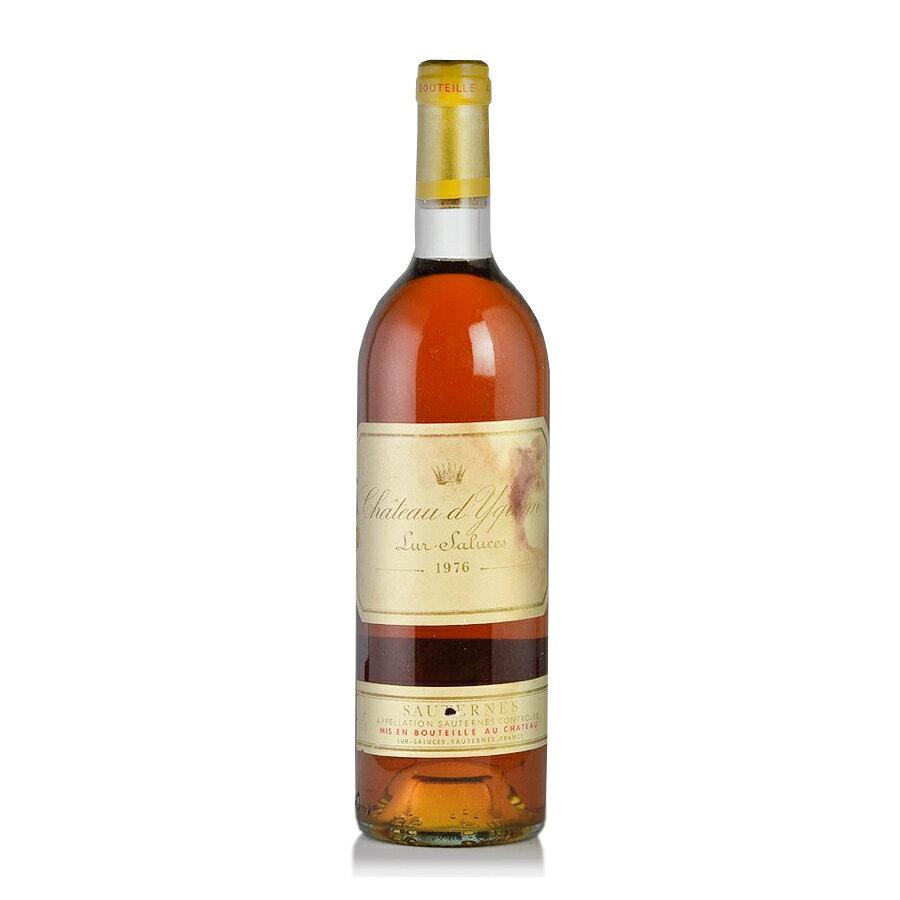 シャトー ディケム 1976 ラベル不良 イケム フランス ボルドー 白ワイン