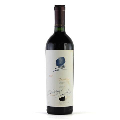 【大感謝祭】1993 オーパス・ワン ※ラベル染み、破れアメリカ / カリフォルニア / 赤ワイン