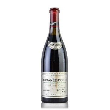 [1997] ドメーヌ・ド・ラ・ロマネ・コンティ DRCロマネコンティ※液面コルク下2.5cm、ラベル不良フランス / ブルゴーニュ / 赤ワイン[outlet][のこり1本]
