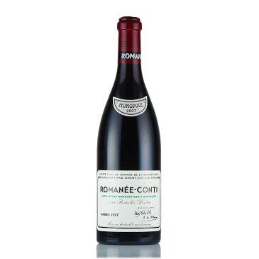 [2007] ドメーヌ・ド・ラ・ロマネ・コンティ DRCロマネコンティフランス / ブルゴーニュ / 赤ワイン[のこり1本]