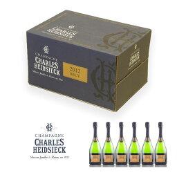 シャルル エドシック ブリュット ミレジム 2012 1ケース 6本 フランス シャンパン シャンパーニュ