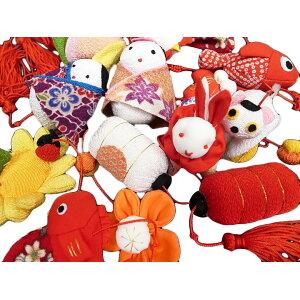 Ohina Matsuri Tsurushi Hina Pure Silk Tsurushi Hina Doll Crepe Craft Set de 10 Rojo Nuevo TR-601-3 g824