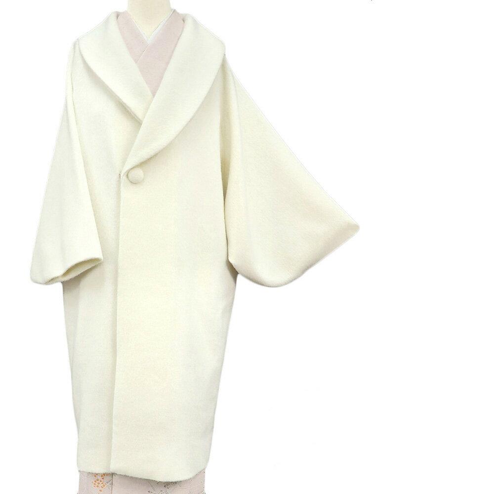 レンタル 防寒コート 和装コート 高級 アンゴラ60% へちま衿 フォーマル カジュアル クリームベージュ 送料無料 一部地域を除く co0041