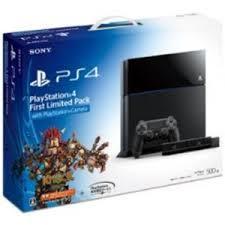 【中古】【美品】PS4 本体 First Limited Pack With PlayStation Camera Jet Black CUHJ-10001 500GB:浪漫遊