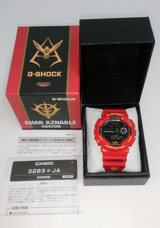 腕時計, メンズ腕時計 CASIO G-SHOCK x GUNDAM 35 (GD-100 3263)