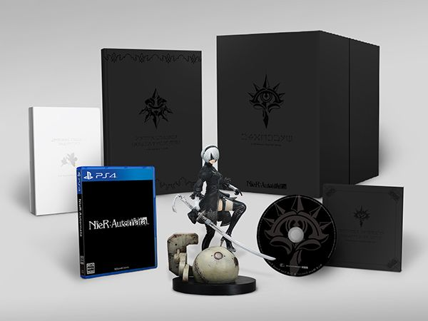 【中古】Play Station4 NieR:Automata Biack Box Edition (ニーア オートマタ):浪漫遊
