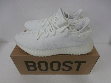 【中古】ADIDAS YEEZY BOOST 350V2 (CP9366)CREAM WHITE (29cm)