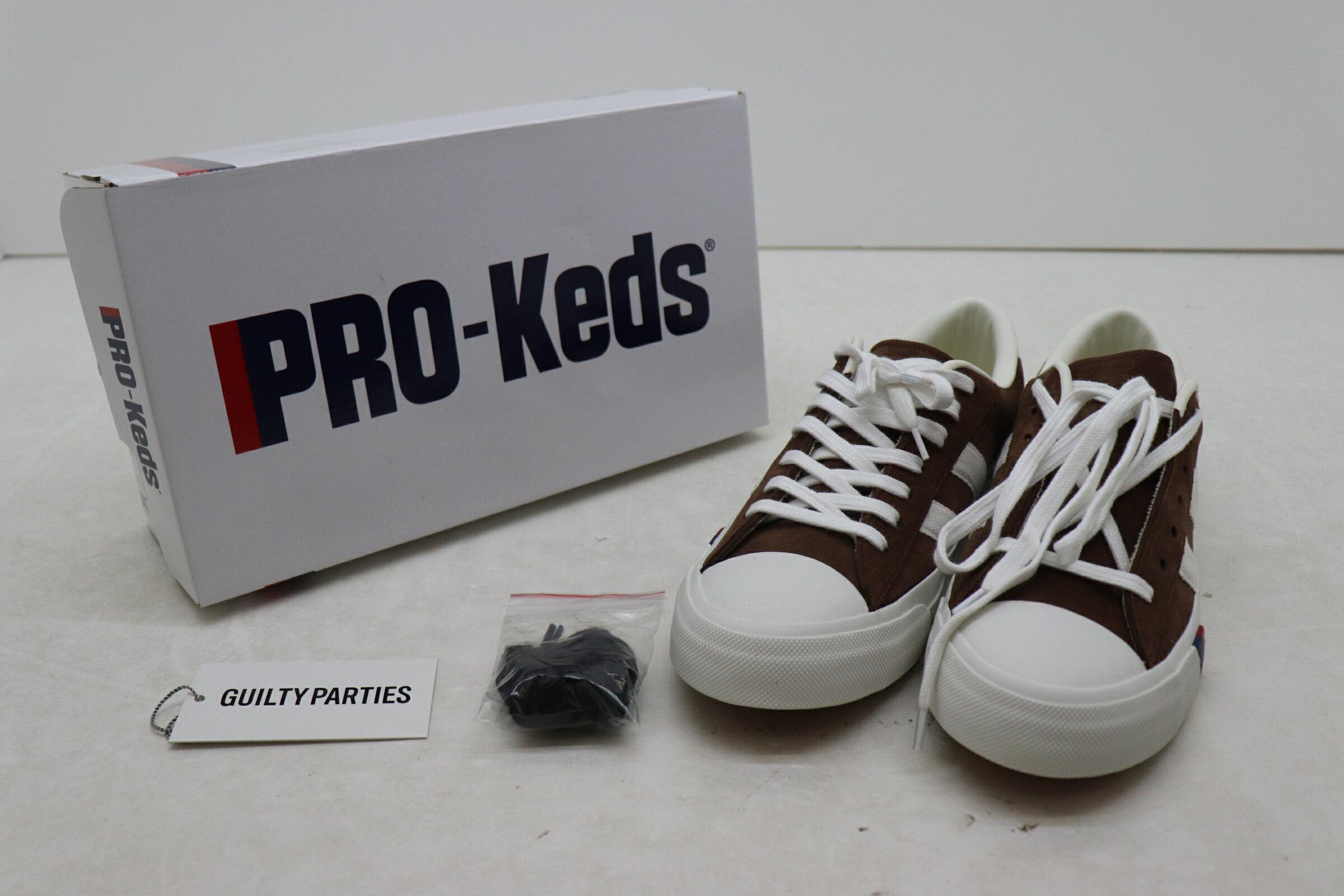 メンズ靴, スニーカー WACKO MARIA PRO-Keds Royal Plus BROWN PROKEDS-WM-SH01 20SS 28cm 7700171Kz