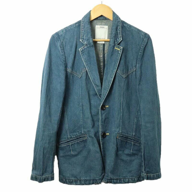 メンズファッション, コート・ジャケット VISVIM 13AW SS WILD BUNCH BLAZER DAMAGED size2