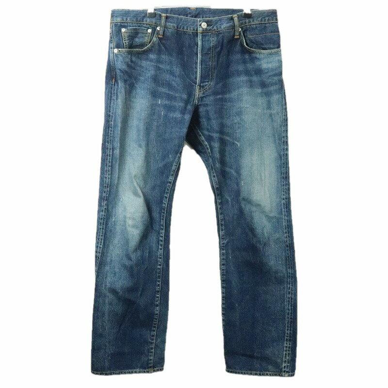 メンズファッション, ズボン・パンツ VISVIM 19FW SOCIAL SCULPTURE DRY DENIM-3 0119205005031size4