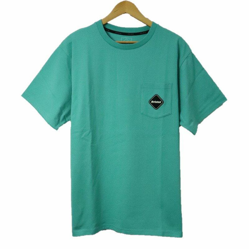 トップス, Tシャツ・カットソー F.C.Real Bristol F.C.R.B. BIG VERTICAL LOGO POCKET TEE T FCRB-210062