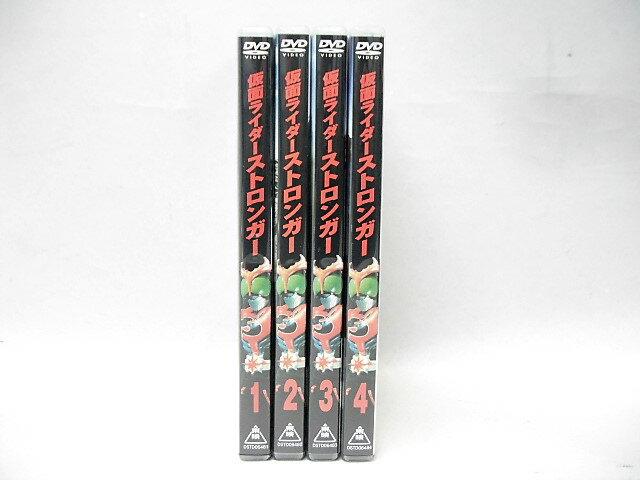 仮面ライダーストロンガー全4巻セット【DVD】:浪漫遊