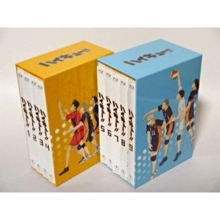 ハイキュー!!  Blu-ray全9巻セット【Blu-ray】【中古】:浪漫遊