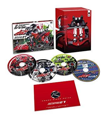 仮面ライダードライブ  DVDコレクション 4巻セット【中古】【DVD】:浪漫遊