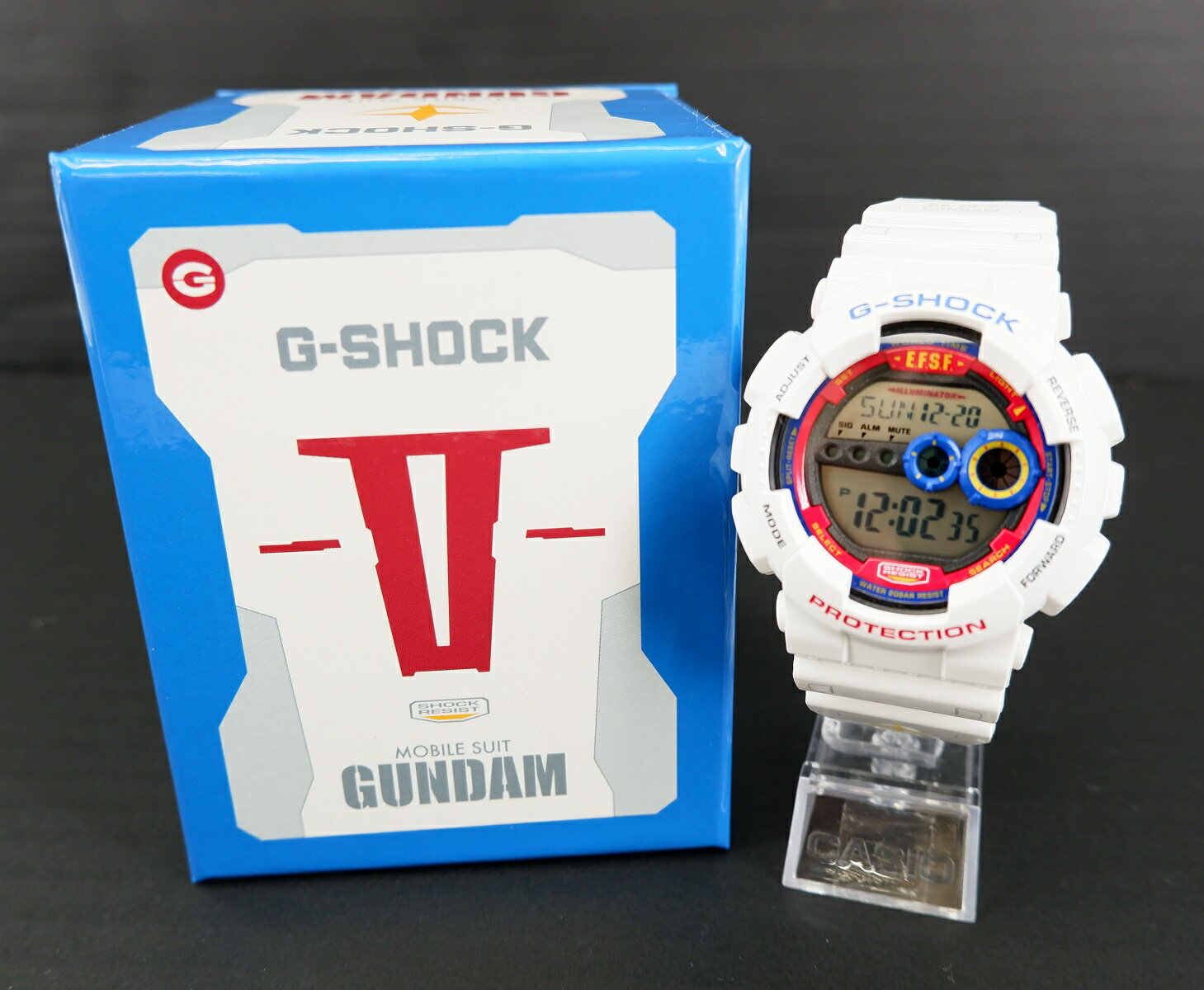 腕時計, メンズ腕時計 G-SHOCK 35 CASIO GD-100 3263 GANDAM