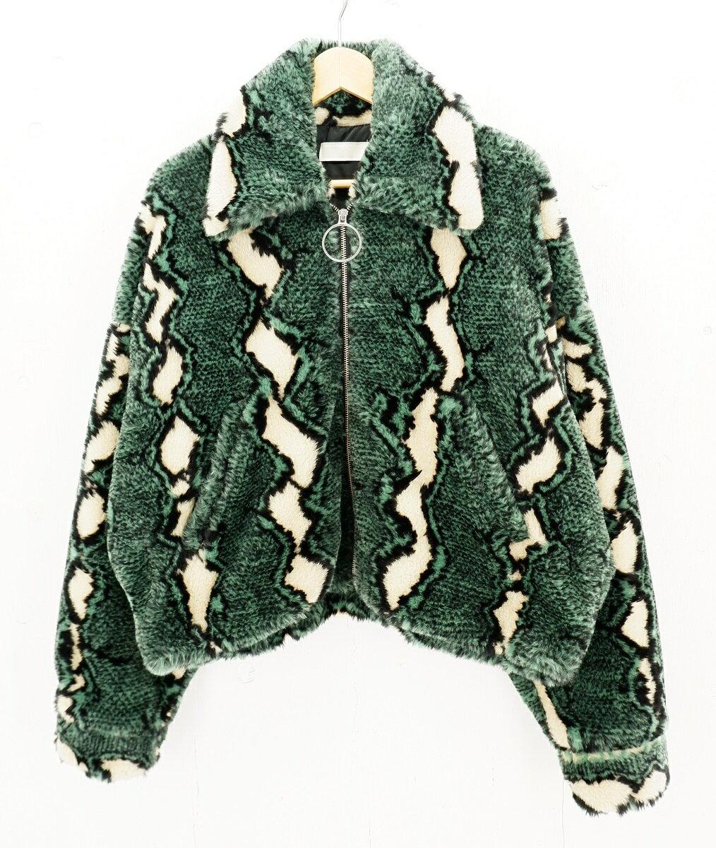 メンズファッション, コート・ジャケット NEON SIGN 17AW PYTHON JACKET size44 0730 Made in Japan