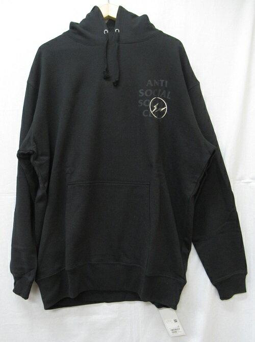 トップス, パーカー POP by Jun ANTI SOCIAL SOCIAL CLUB ASSCFRAGMENT DESIGN 19AW Logo HoodieSize:XL Black