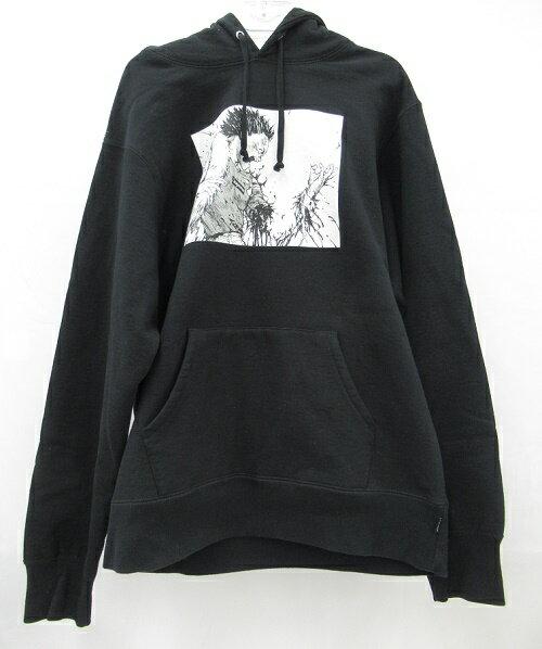 トップス, パーカー SupremeAKIRA 17AWArm Hooded Sweatshirt Black SIZE:M